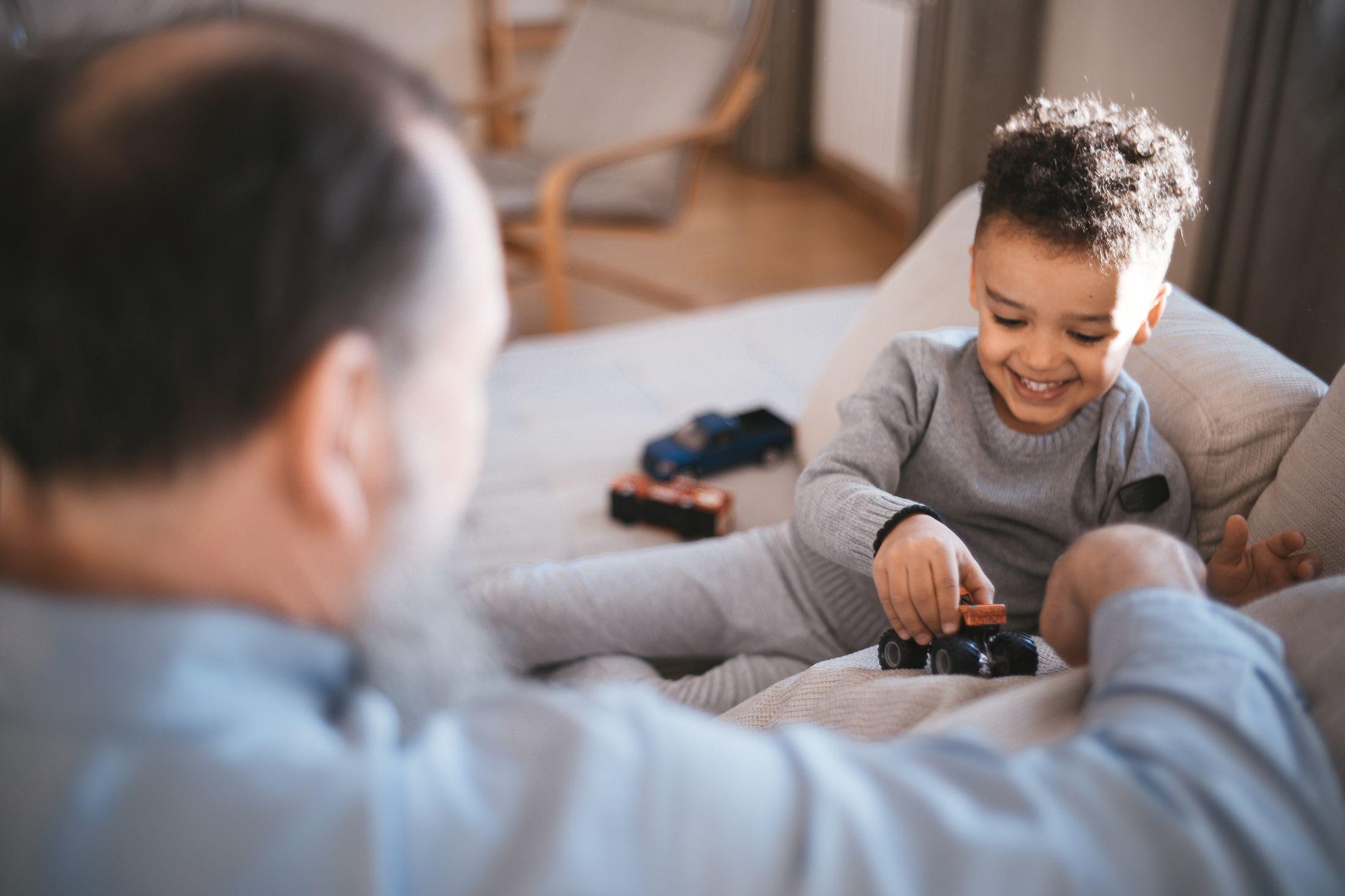social security myths retirement man grandfather boy grandson home