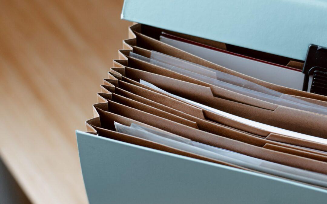 documents folder safe box secure important paperwork